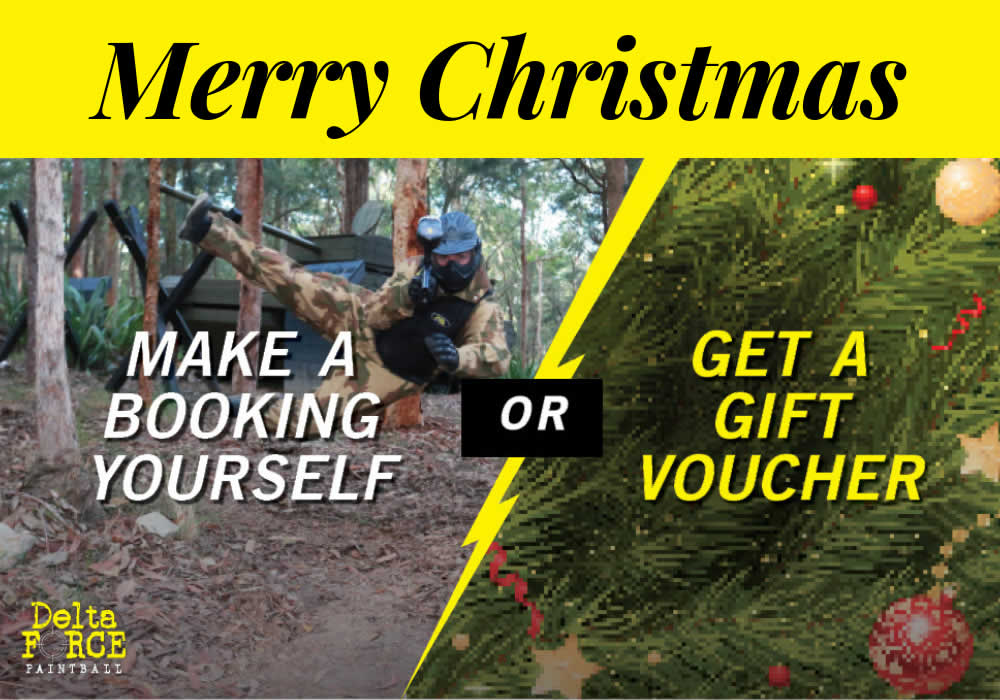Christmas 2018 - Delta Force Paintball New Zealand