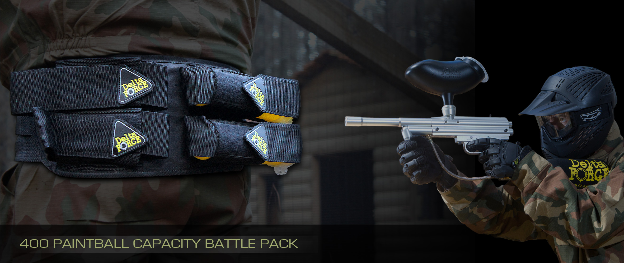 Delta Force Paintball Battle Pack