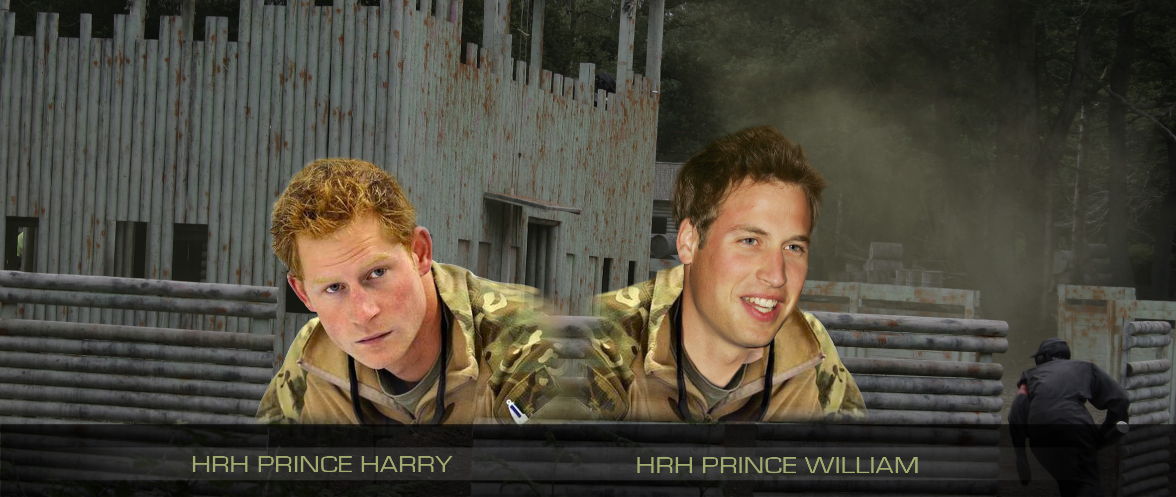 HRH Prince Harry & HRH Prince William